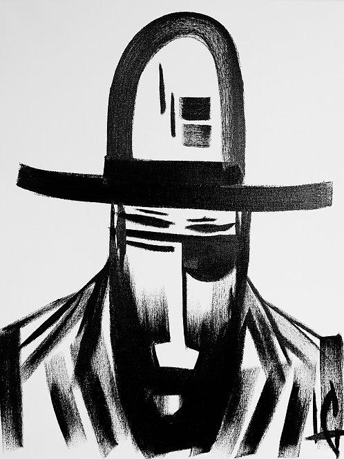 Man in Hat 516