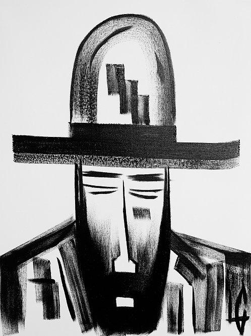 Man in Hat 517