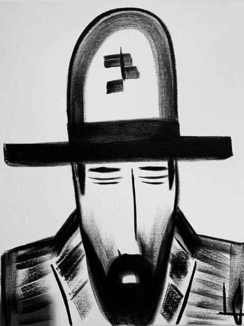 Man in Hat 537