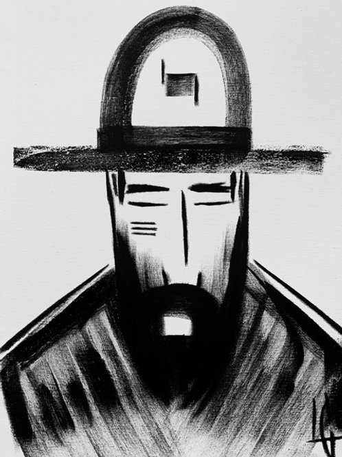 Man in Hat 539