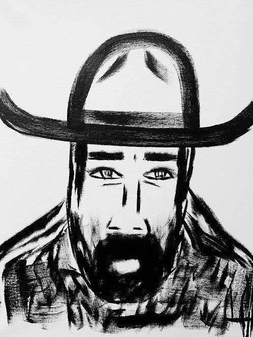 Man in Hat 529