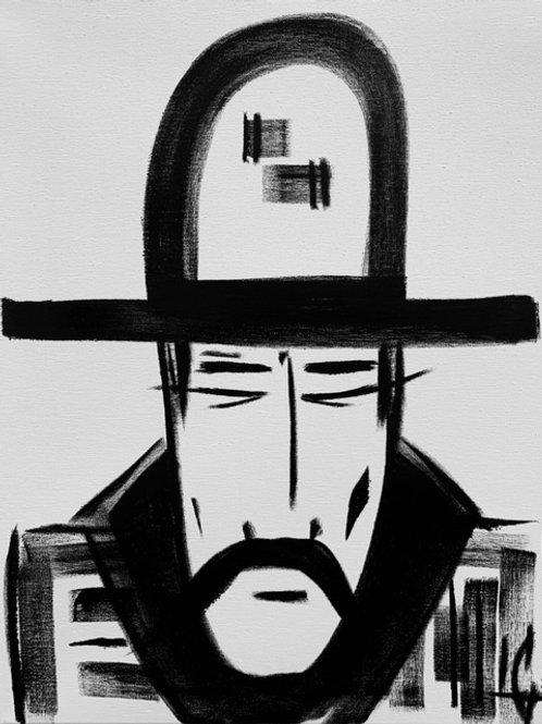 Man in Hat 533