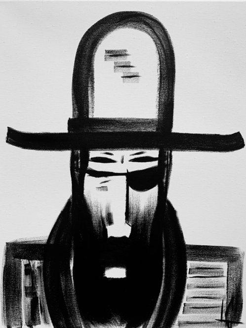 Man in Hat 532