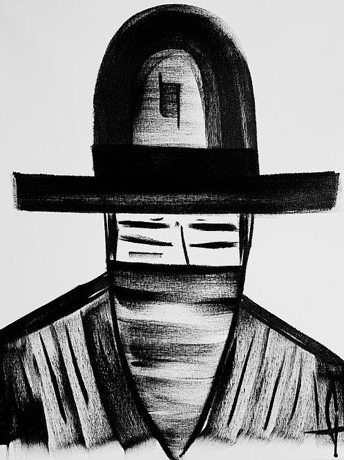 Man in Hat 530