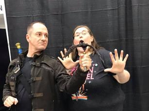 Sarge (@Coulsonandkids) & Alicia (@Philinda_AoS)