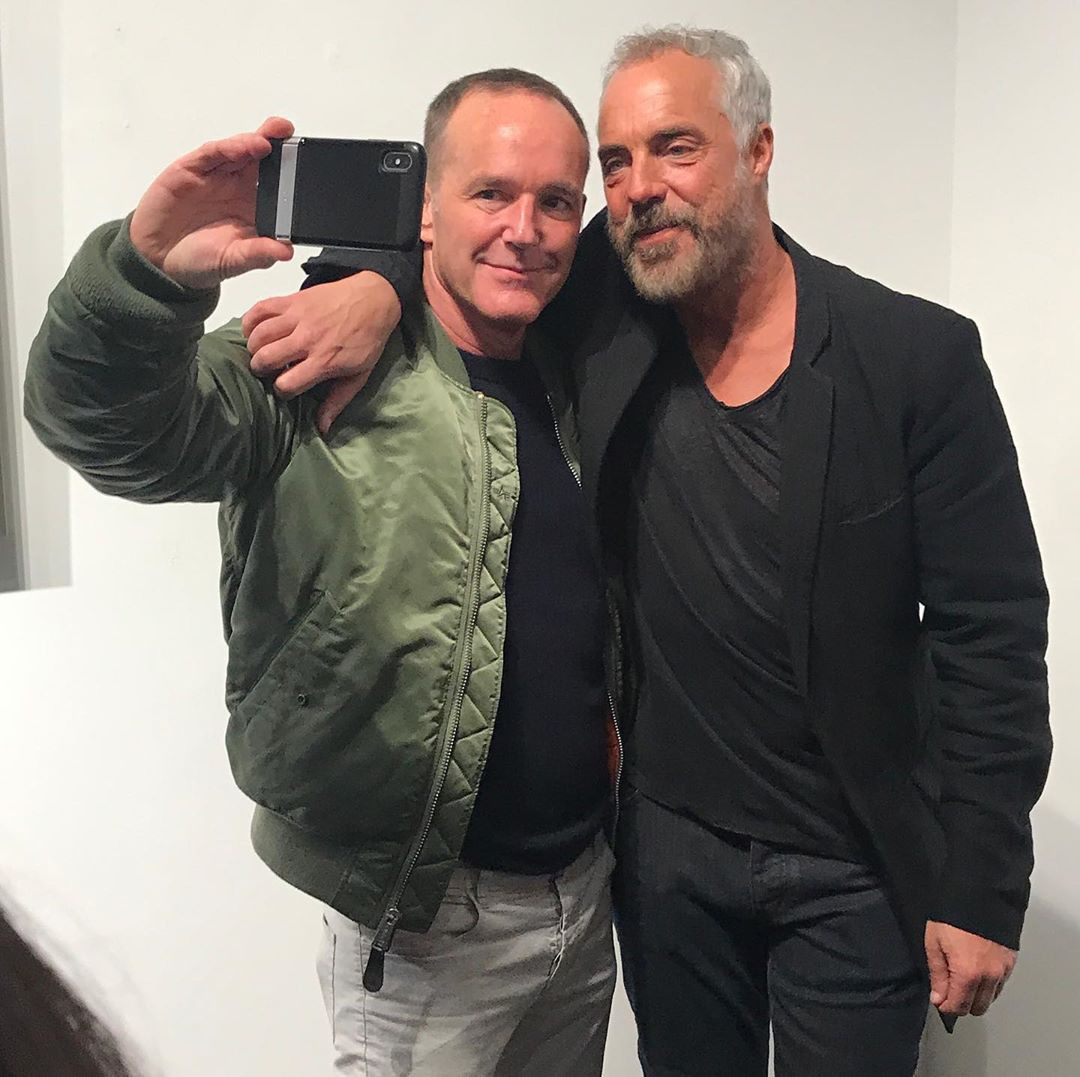 Clark Gregg and Titus Welliver