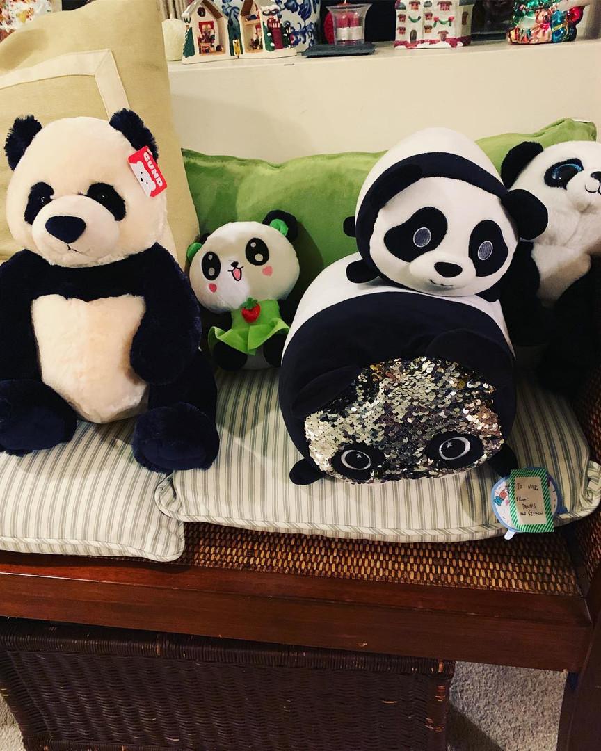 Ming-Na's panda collection