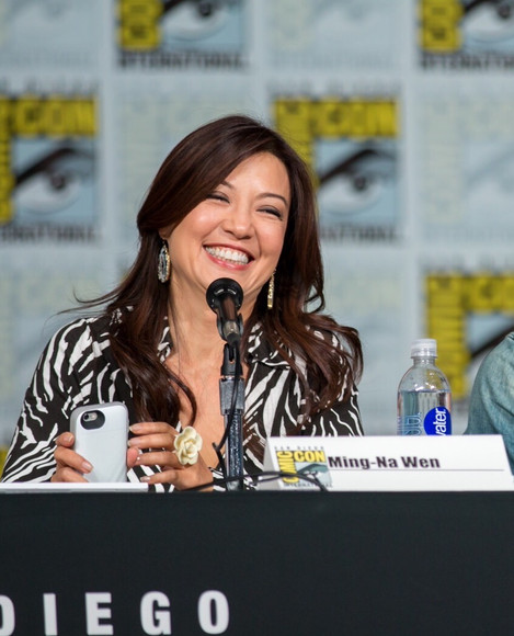 Ming-Na at the 2015 San Diego Comic Con