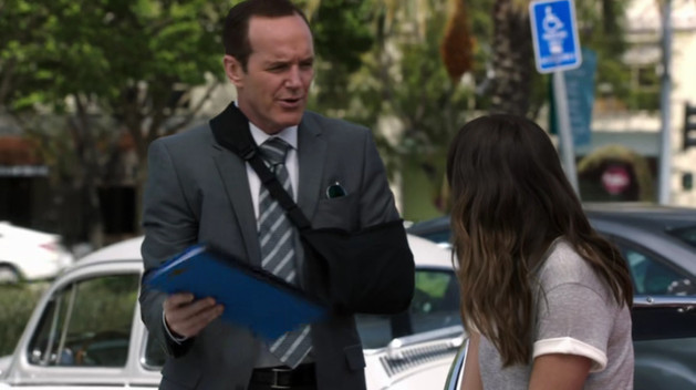 Coulson with Daisy