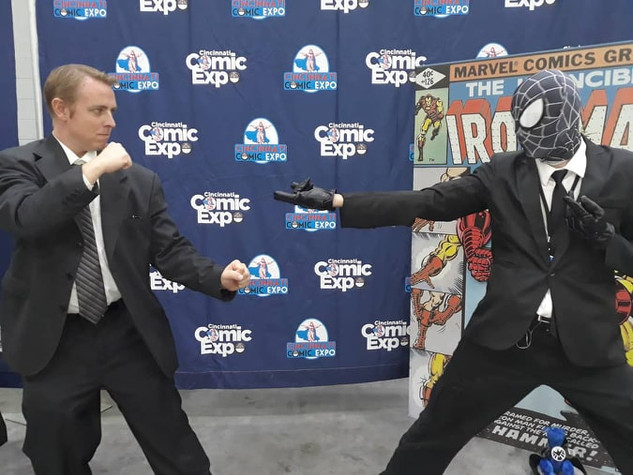 Coulson and Spidey