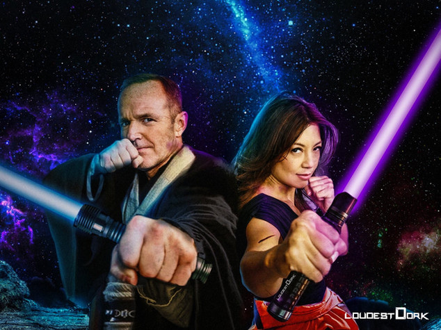 "Coulson & May ""Star Wars"" by @LoudestDork"