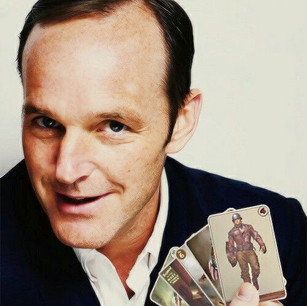 Coulson with Cap Cards
