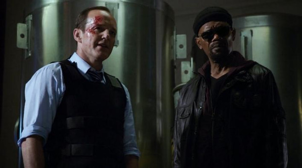 Coulson and Nick Fury