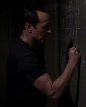 Coulson writing on the wall