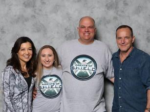 Ming, Clark, Samantha Warren and her Fiancee.
