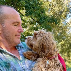 Clark and Winnie (Stella's dog)