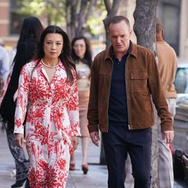 Clark Gregg and Ming-Na Wen