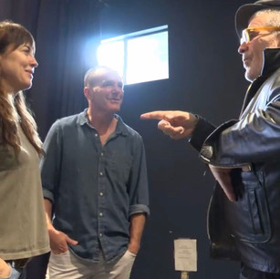 Clark Gregg, Rebecca Pidgeon, David Mamet