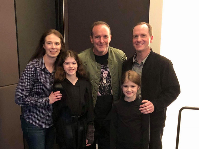 @Coulsonandkids and his family