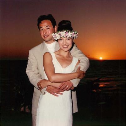 Eric & Ming-Na at Maui
