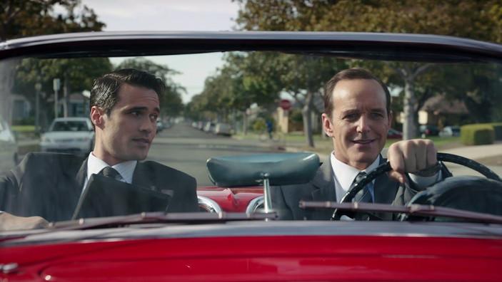 Coulson & Ward in Lola (Season 1)