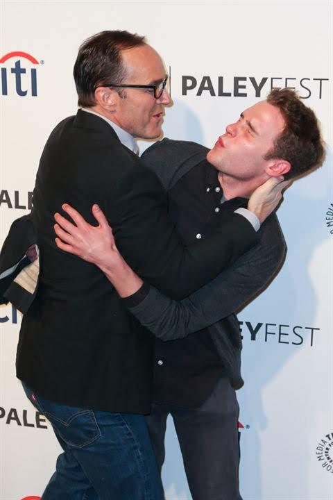 Clark and Iain