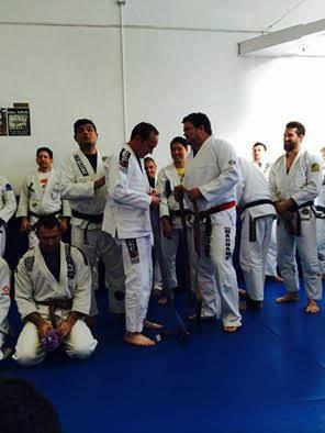 Clark Gregg BJJ belt