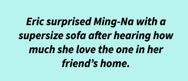 Eric surprising Ming-Na