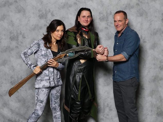 Clark & Ming w/ Loki Cosplayer Patticus Behrens @callo.cosplay