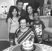 Surprising Ming-Na's Mom on her birthday
