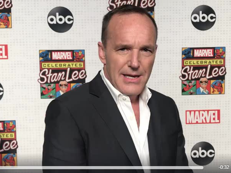 "Clark Gregg hosts ""Celebrating Stan Lee"" on ABC"