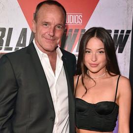 Clark with daughter Stella