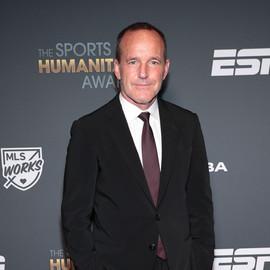 Clark at The Sports Humanitarian Award