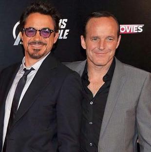 Clark and Robert Downey Jr