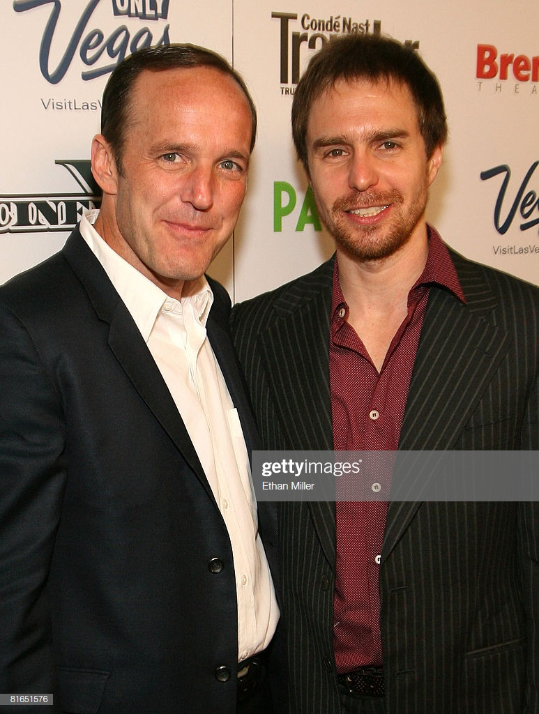 Clark Gregg and Sam Rockwell