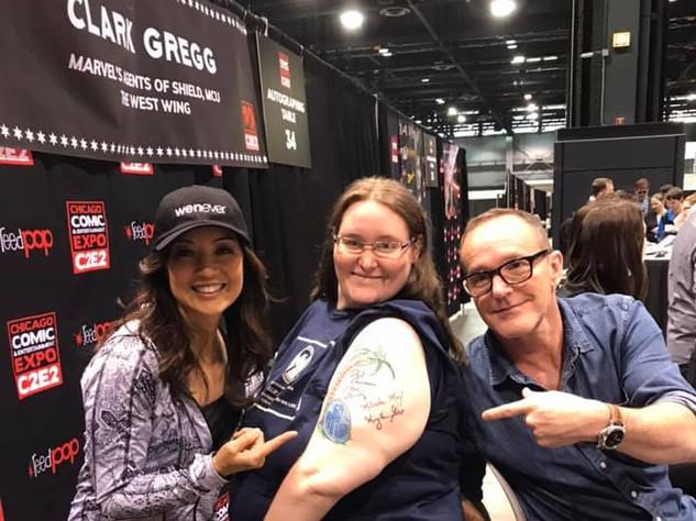 Alicia, Ming & Clark @C2E2