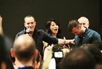 Ming-Na at San Diego Comic Con 201