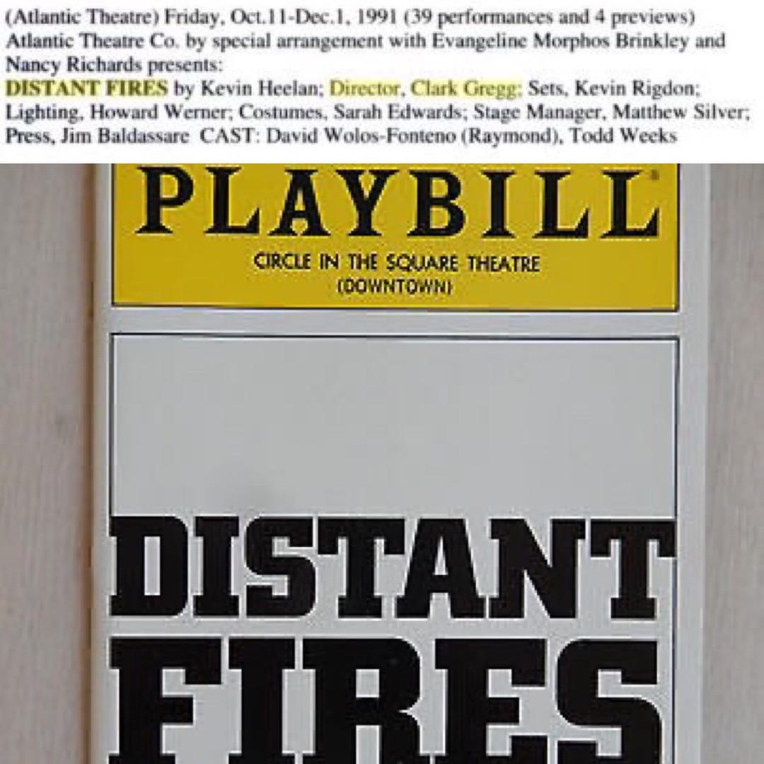 Distant Fires (1991-1993)