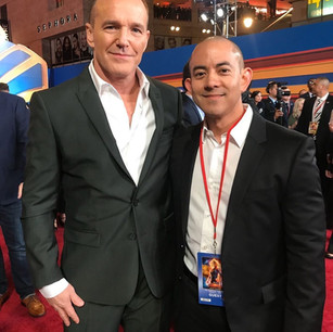 Clark Gregg with his friend Jason (@jmiya23)