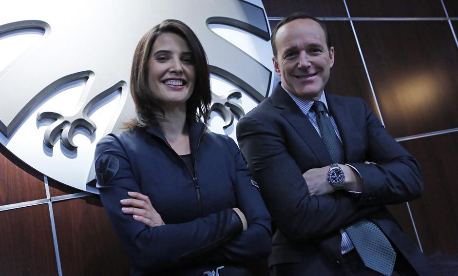 Coulson & Maria Hill