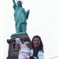 Ming-Na & Baby Michaela