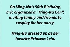 Ming-Na's 50th Birthday