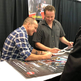 Clark at 2018 Cincinnati Comic Expo