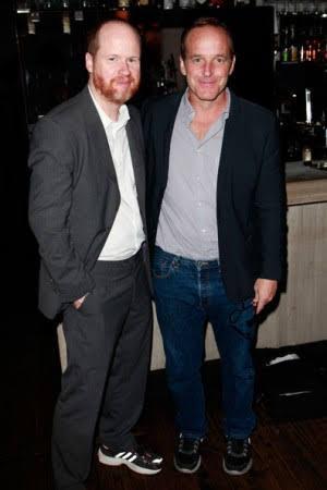 Clark and Joss Whedon