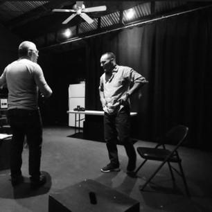 Clark Gregg and David Mamet
