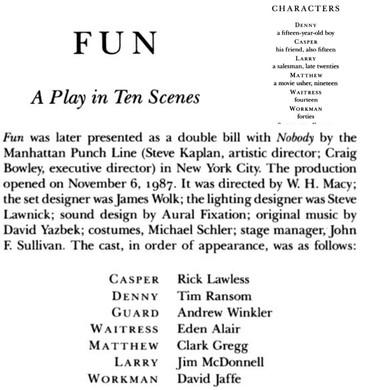 Fun (1987)
