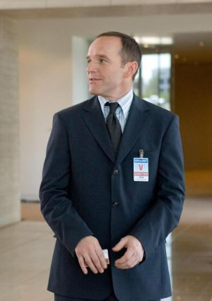 Coulson in Iron Man