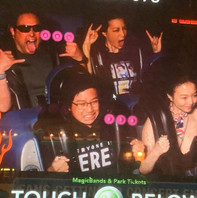 Ming-Na and Family on the Millennium Falcon: Smugglers Run