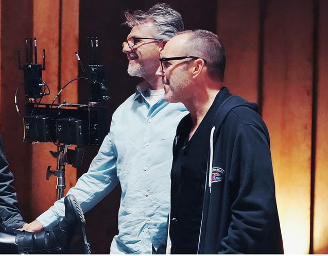 Clark Gregg directing Agents of S.H.I.E.L.D. s5