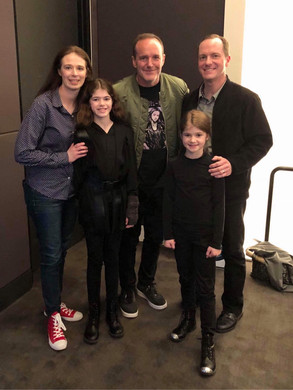 Clark Gregg, Brian and his family